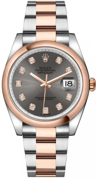 replique Montre Rolex Datejust 36 Oystersteel & Gold 116201