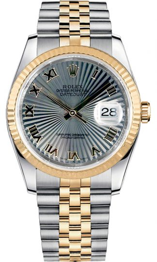 replique Montre Rolex Datejust 36 Oystersteel & Gold 116233