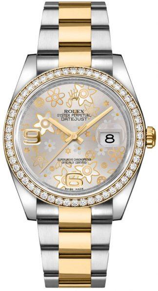 replique Montre Rolex Datejust 36 Oystersteel pour femme 116243
