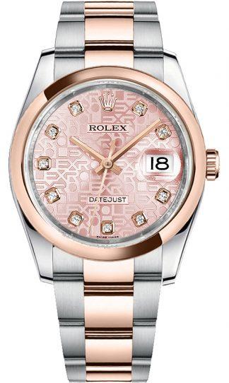 replique Montre Rolex Datejust 36 Pink Diamond Jubilee 116201