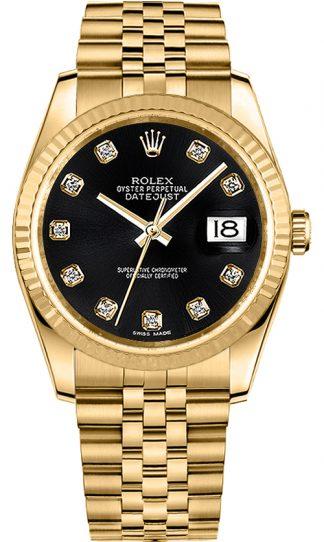 replique Montre Rolex Datejust 36 en or 116238