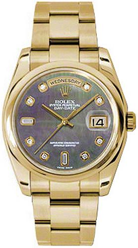 replique Montre Rolex Day-Date 36 Diamond 118208