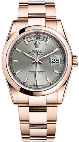 replique Montre Rolex Day-Date 36 Diamond Dial 118205