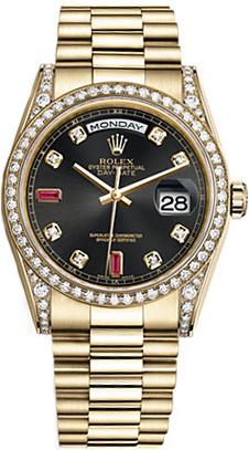 replique Montre Rolex Day-Date 36 Luxury Gold 118388