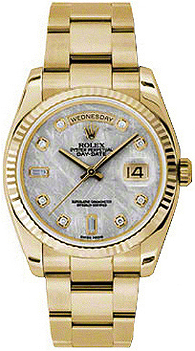 replique Montre Rolex Day-Date 36 Suisse en or jaune 118238
