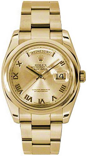 replique Montre Rolex Day-Date 36 Swiss Automatic pour homme 118208
