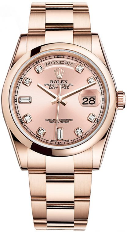 replique Montre Rolex Day-Date 36 en or 118205