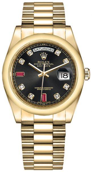 replique Montre Rolex Day-Date 36 en or 118208