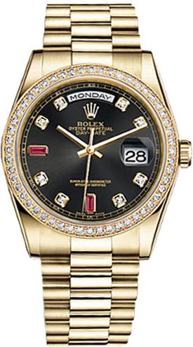 replique Montre Rolex Day-Date 36 en or 118348