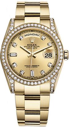 replique Montre Rolex Day-Date 36 en or 118388
