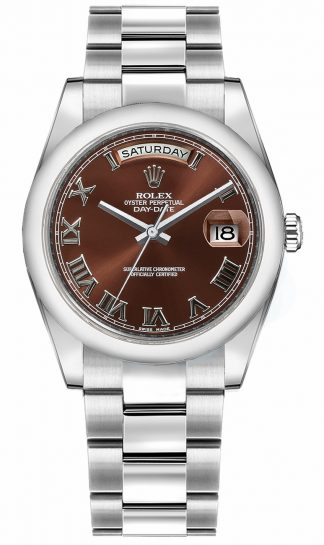 replique Montre Rolex Day-Date 36 en or massif 118209