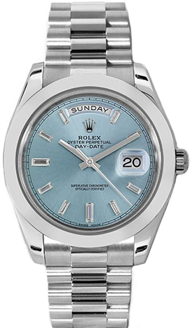replique Montre Rolex Day-Date 40 Platine 228206