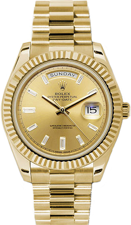 replique Montre Rolex Day-Date 40 en or massif 228238