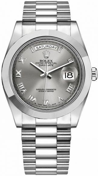 replique Montre Rolex Day-Date 41 Diamond Platinum 218206