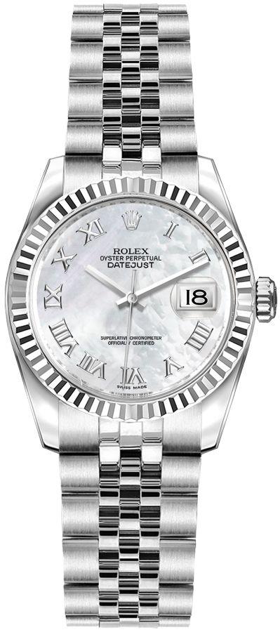 replique Montre Rolex Lady-Datejust 26 Pearl 179174