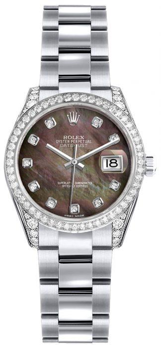 replique Montre Rolex Lady-Datejust 26 en or massif 18 carats 179159