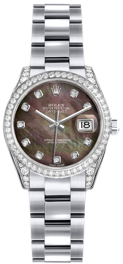 replique Montre Rolex Lady-Datejust 26 en or massif 18 carats 179159
