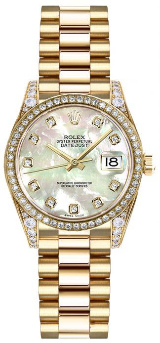 replique Montre Rolex Lady-Datejust 26 nacre 179158
