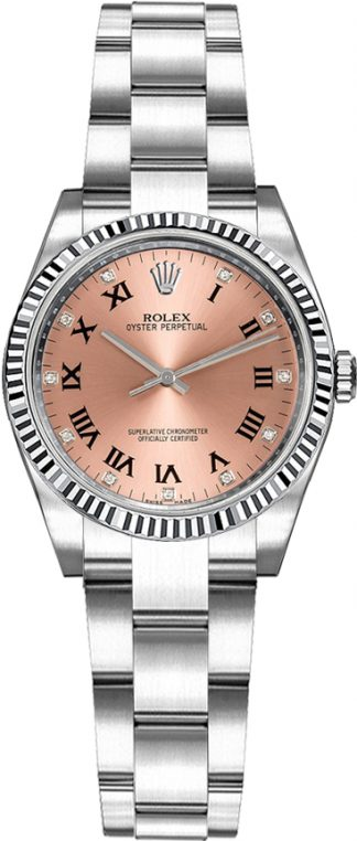 replique Montre Rolex Oyster Perpetual 26 Pink Diamond 176234