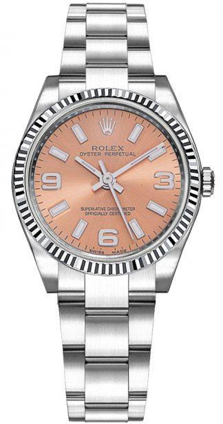 replique Montre Rolex Oyster Perpetual 31 à cadran rose 177234