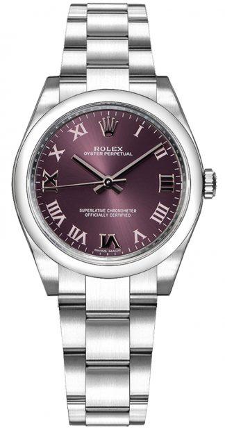 replique Montre Rolex Oyster Perpetual 31 Acier & Or Blanc 177200