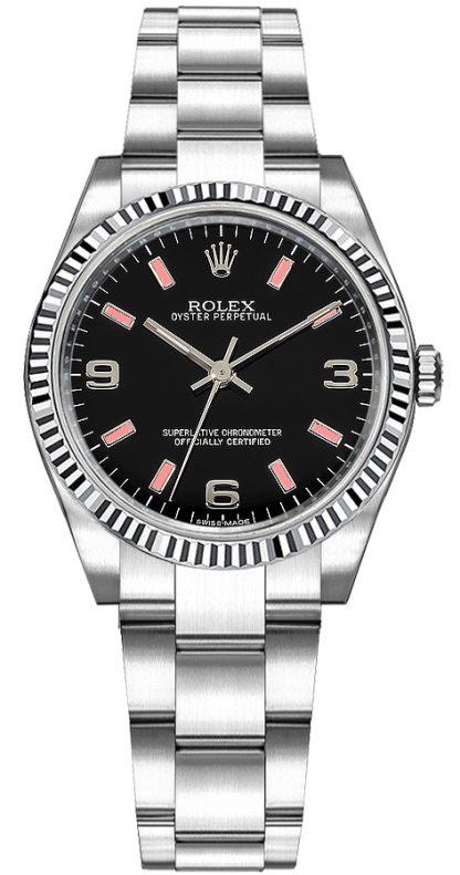 replique Montre Rolex Oyster Perpetual 31 en acier inoxydable 177234