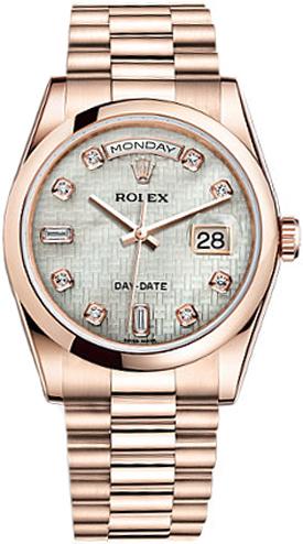 replique Montre automatique Rolex Day-Date 36 pour homme 118205