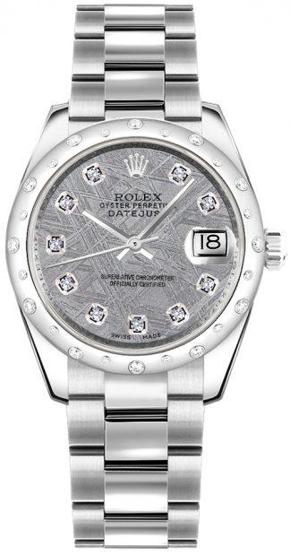 replique Montre bracelet Rolex Datejust 31 Diamond Oyster 178344