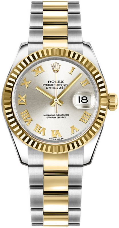replique Montre bracelet Rolex Datejust 31 automatique pour femme Oyster 178273