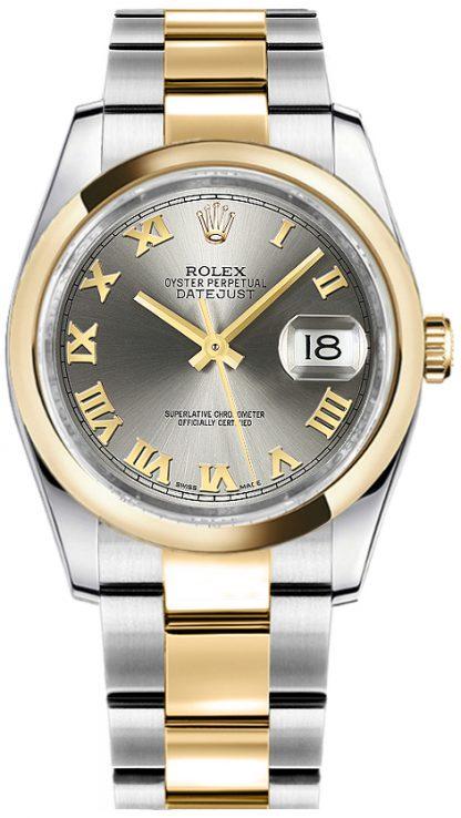 replique Montre bracelet Rolex Datejust 36 Oyster 116203
