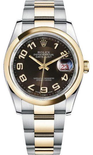 replique Montre bracelet Rolex Datejust 36 Oyster automatique 116203