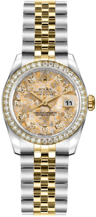 replique Montre bracelet Rolex Lady-Datejust 26 Diamond Jubilee 179383