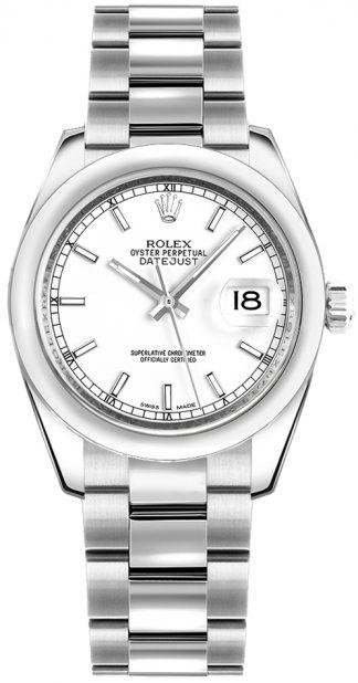 replique Montre cadran blanc Rolex Datejust 31 178240