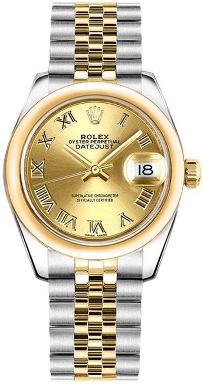 replique Montre de luxe Rolex Datejust 31 178243