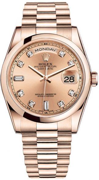 replique Montre de luxe Rolex Day-Date 36 pour homme 118205