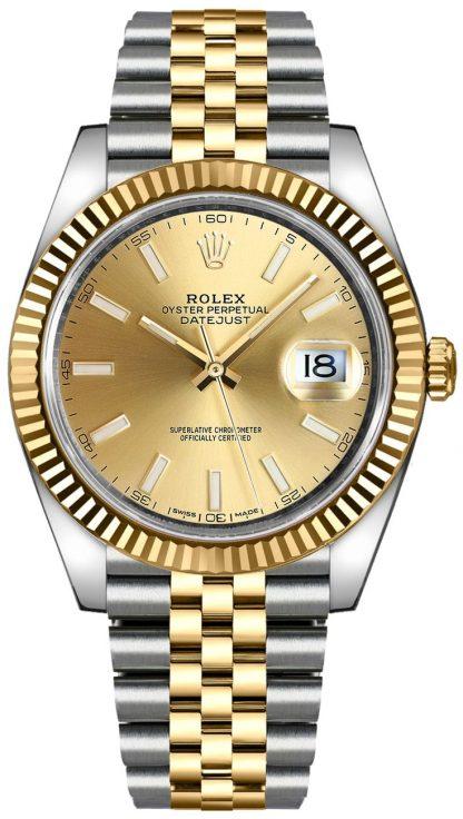 replique Montre de luxe automatique Rolex Datejust 41 pour homme 126333