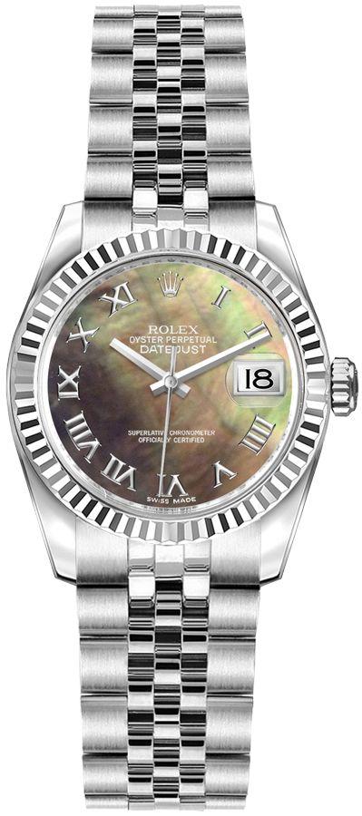 replique Montre de luxe pour femme Rolex Lady-Datejust 26 179174