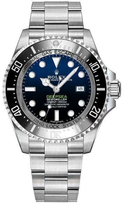 replique Montre de luxe pour homme Rolex Deepsea D-Blue Dial 116660
