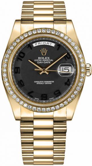 replique Montre en or Rolex Day-Date 41 pour homme 218348