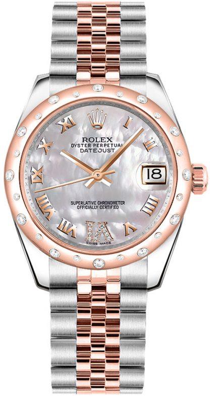 replique Montre femme Rolex Datejust 31 Diamond 178341