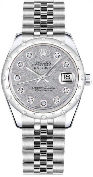 replique Montre femme Rolex Datejust 31 Meteorite Dial 178344