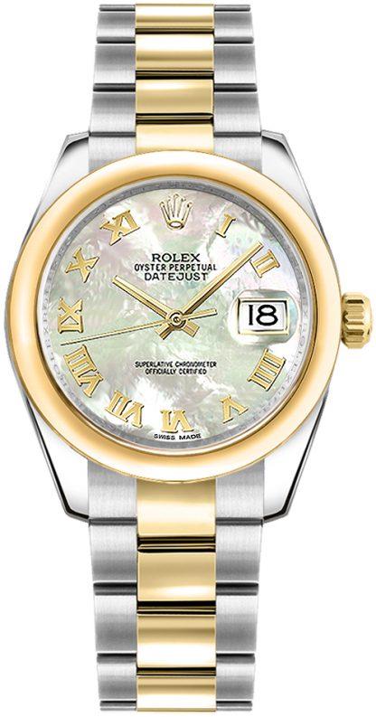 replique Montre femme Rolex Datejust 31 cadran nacre 178243
