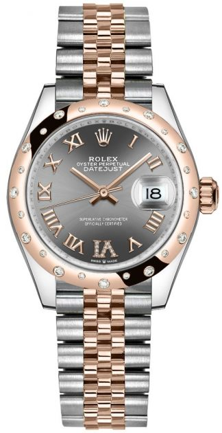 replique Montre femme Rolex Datejust 31 cadran rhodium 278341RBR