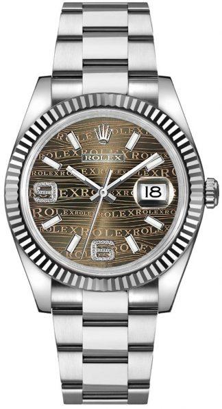 replique Montre femme Rolex Datejust 36 Diamond 116234