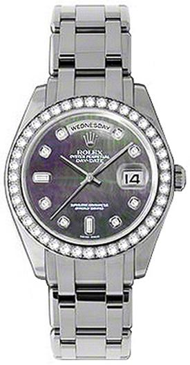 replique Montre homme Rolex Day-Date édition spéciale diamant or 18946