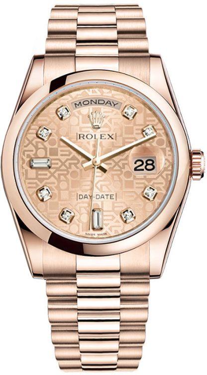 replique Montre homme Rolex Day-Date 36 Luxury 118205