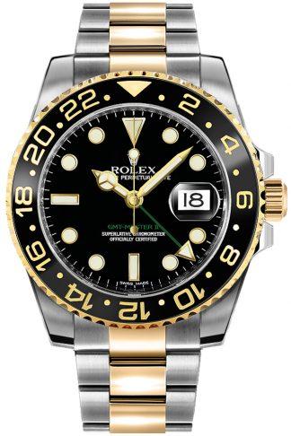 replique Montre homme Rolex GMT-Master II noire 116713