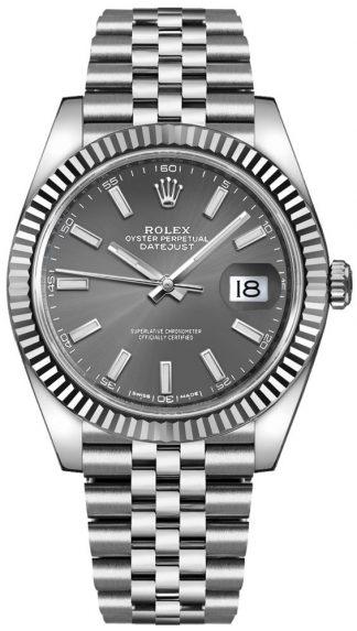 replique Montre homme de luxe Rolex Datejust 41 126334