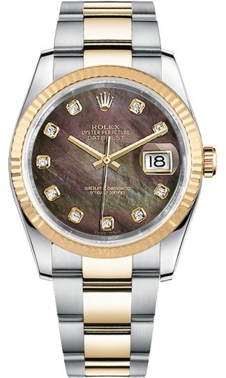 replique Montre pour homme Rolex Datejust 36 Diamond 116233