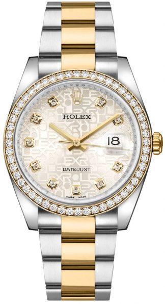 replique Montre pour homme Rolex Datejust 36 Diamond 116243